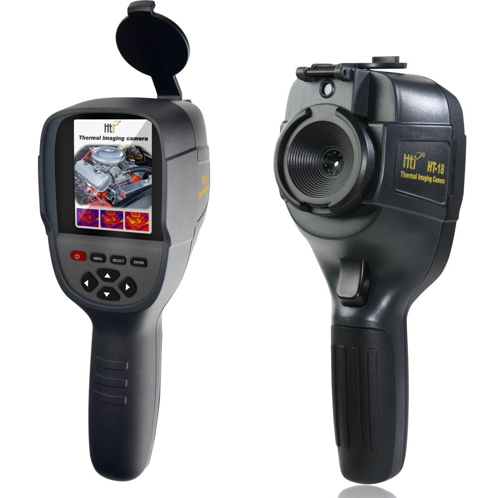 HT-18 Digital Thermal camera Infrared IR thermal imager temperature imaging camera tester for Water pipe high resolution
