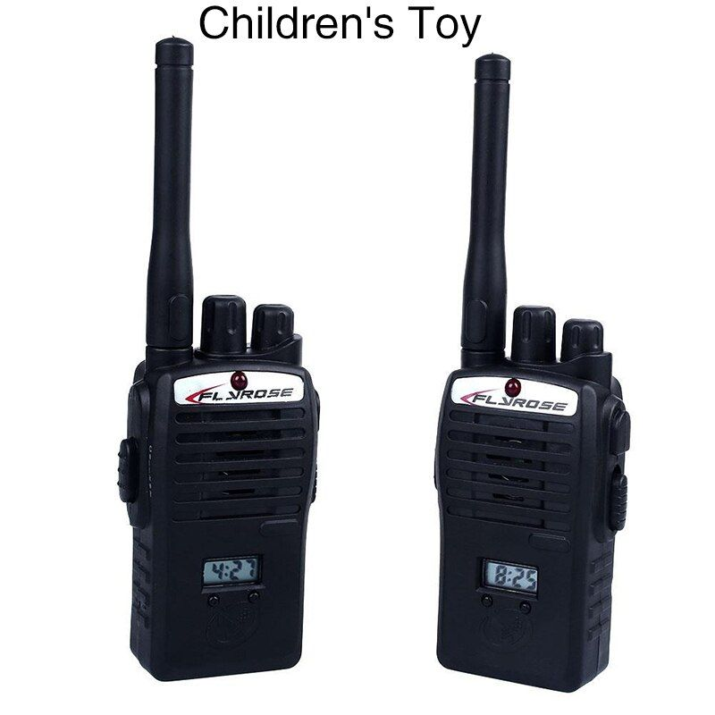 Vente chaude 2 PCS Sans Fil Talkie Walkie Enfant Enfants Ensemble Enfants Portable Électronique Jouets