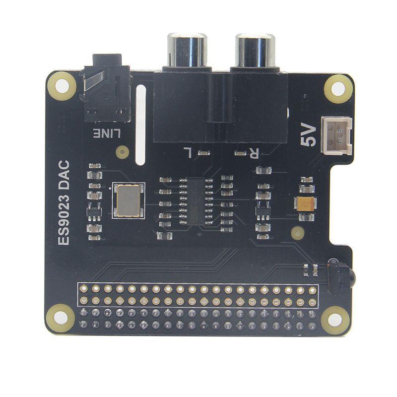 LEORY ES9023 DAC Expansion Board Für X900 HIFI DAC HD Audio Erweiterungskarte für Raspberry Pi 3 Modell B/2B/A +/Null W