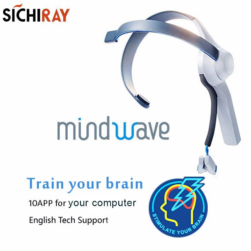 2018 Hot Sale Mindwave <font><b>Headset</b></font> International Rf Version Dry Electrode Eeg Attention And Meditation Controller Neuro Feedback