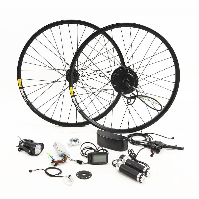 36V 250/350W Electric Bike Kit for 26' 27.5' 29' Wheel Motor Kettle Battery LED LCD Ebike e bike Electric Bike Conversion g001