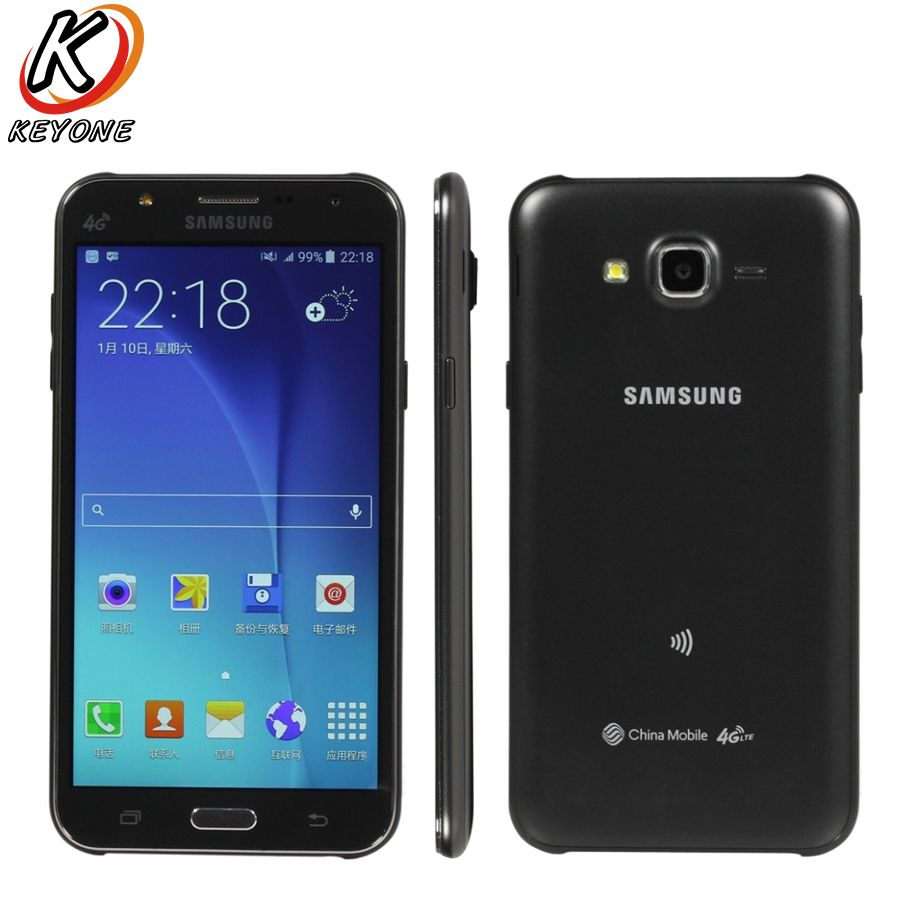 Original New Samsung GALAXY J7 J7008 4G LTE Mobile Phone 1.5GB RAM 16GB ROM 5.5