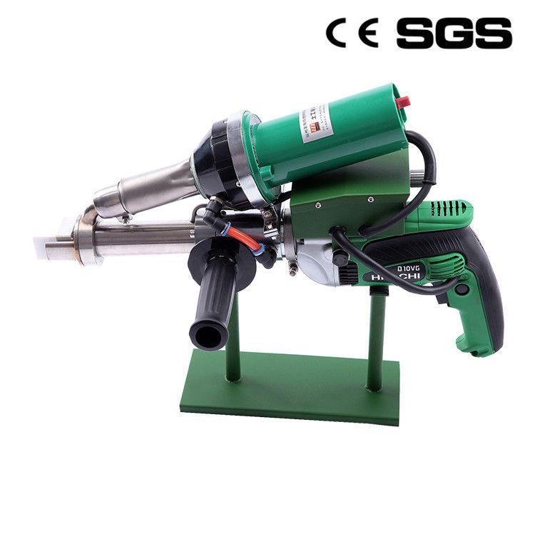 Hot Air Plastic Welder Gun Vinyl extruder pipe extrusion welder machine with JAPANESE HITACHI MOTOR LST600A