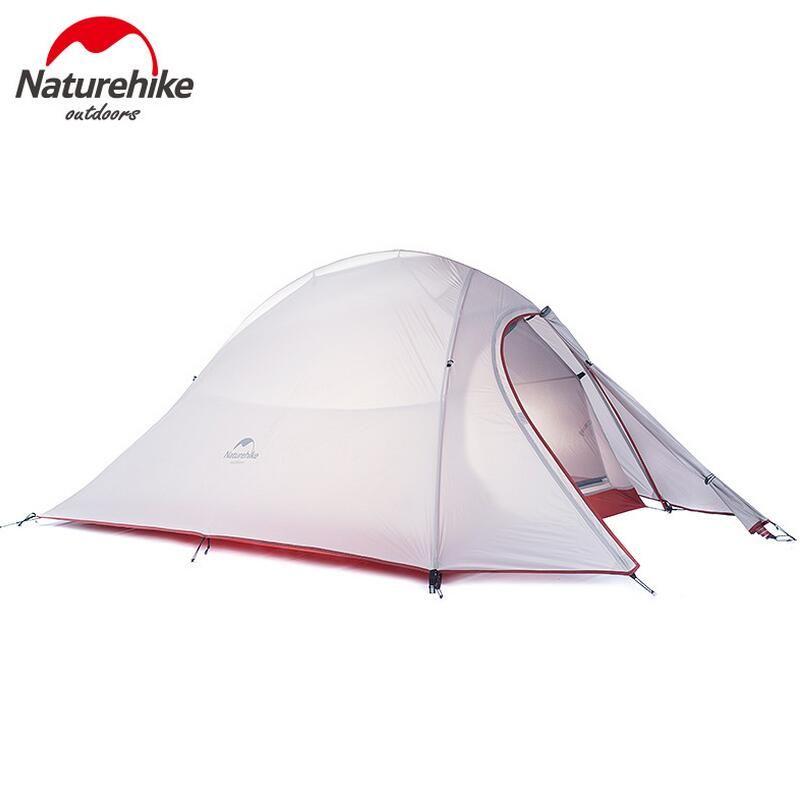 NatureHike Outdoor Camping Zelt 2 3 Person Wasserdichte Doppelschicht 4 Saison 1 Person Strand Angeln Wandern Zelte Tourist tenda