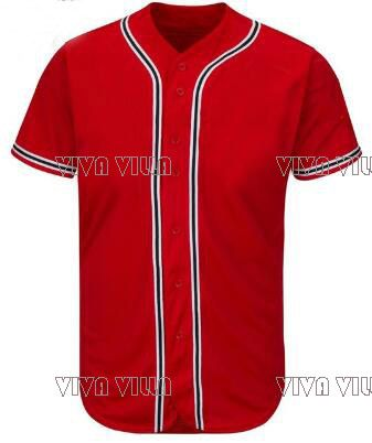 2017 New Baseball Jersey Personality customization Any Name Any Number All Stitched Logo Men Jerseys S-4XL Free Shipping