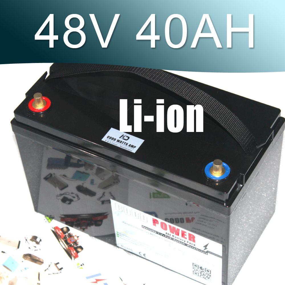 Ebike 48 V 3000 Watt Lithium-ionen-akku 48 v Elektrische fahrrad wasserdichten batterie