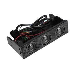 Built-in Speaker Desktop Computer External Optical Drive Audio Cabinet Built-in Mini Speaker Optical Drives Cases Stereo Speaker