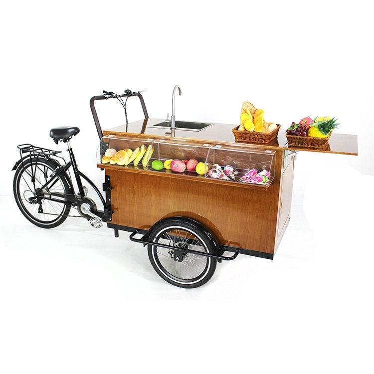Freies verschiffen heißer hund kaffee bike mobil snack fahrrad lebensmittel vending dreirad