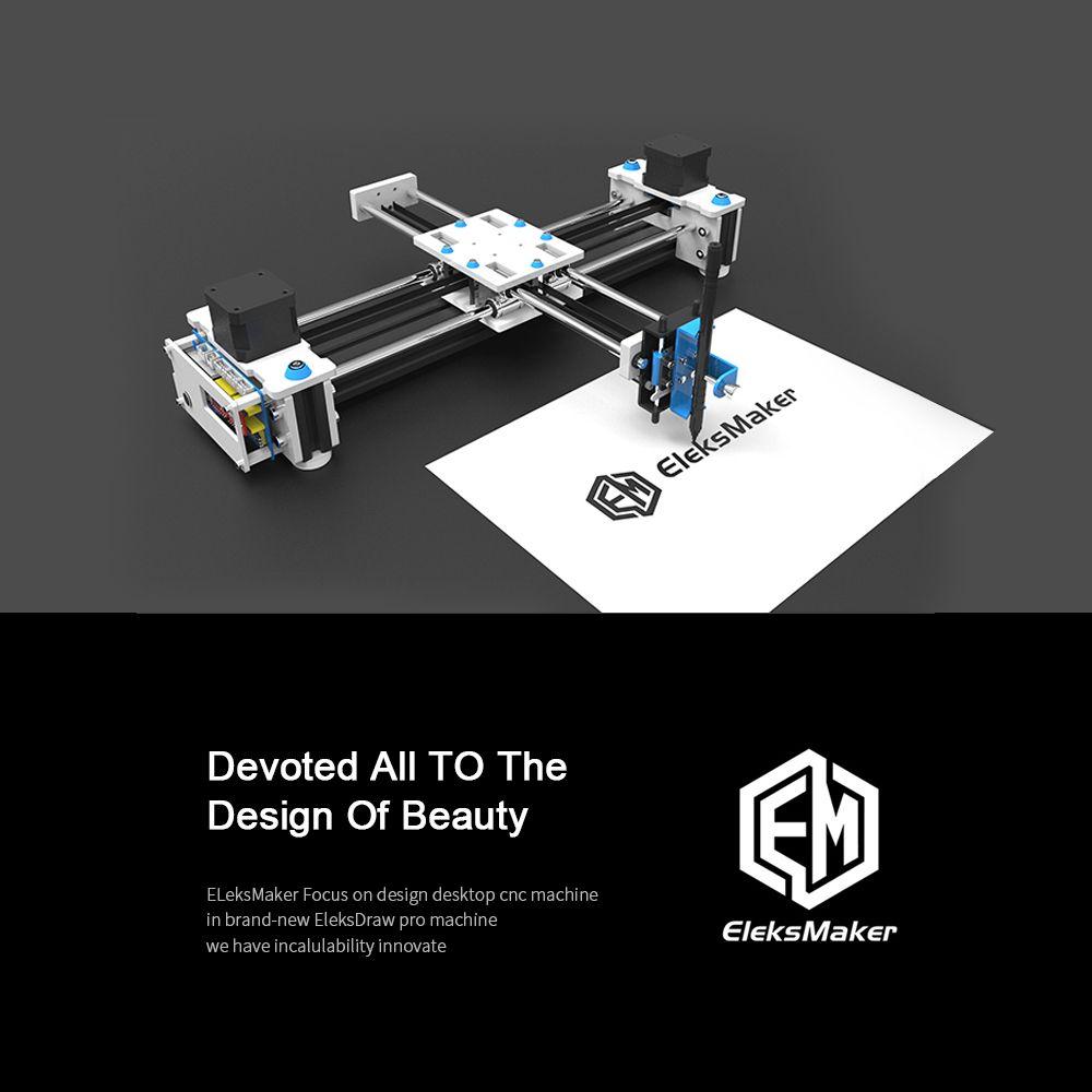 New arrival Desktop DIY plotter Desktop EleksDraw USB DIY XY Plotter Pen Drawing Robot Drawing Machine 100-240V