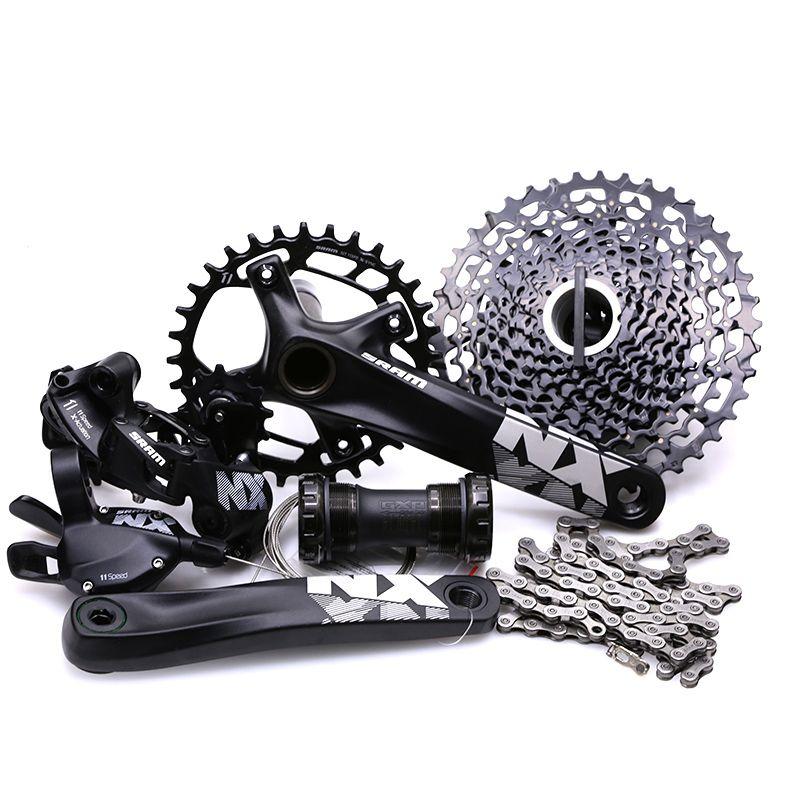 SRAM NX 1x11 11S Speed Groupset GX crankset 170 175mm MTB Mountain Bike Kit Bicycle Derailleur Cycling Parts