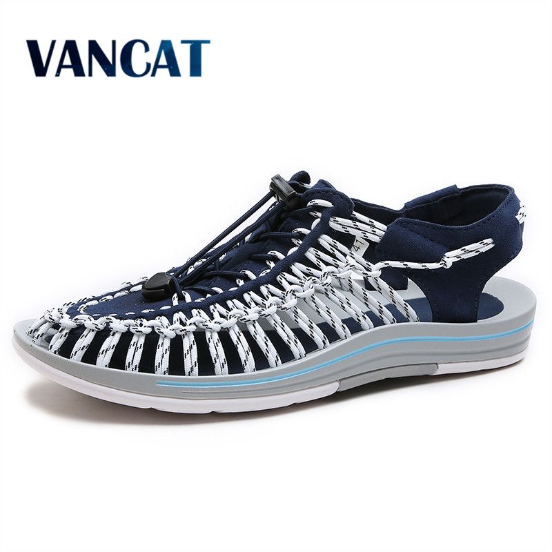 VANCAT 2017 New arrived summer sandals men shoes quality comfortable men sandals fashion design casual men sandals shoes