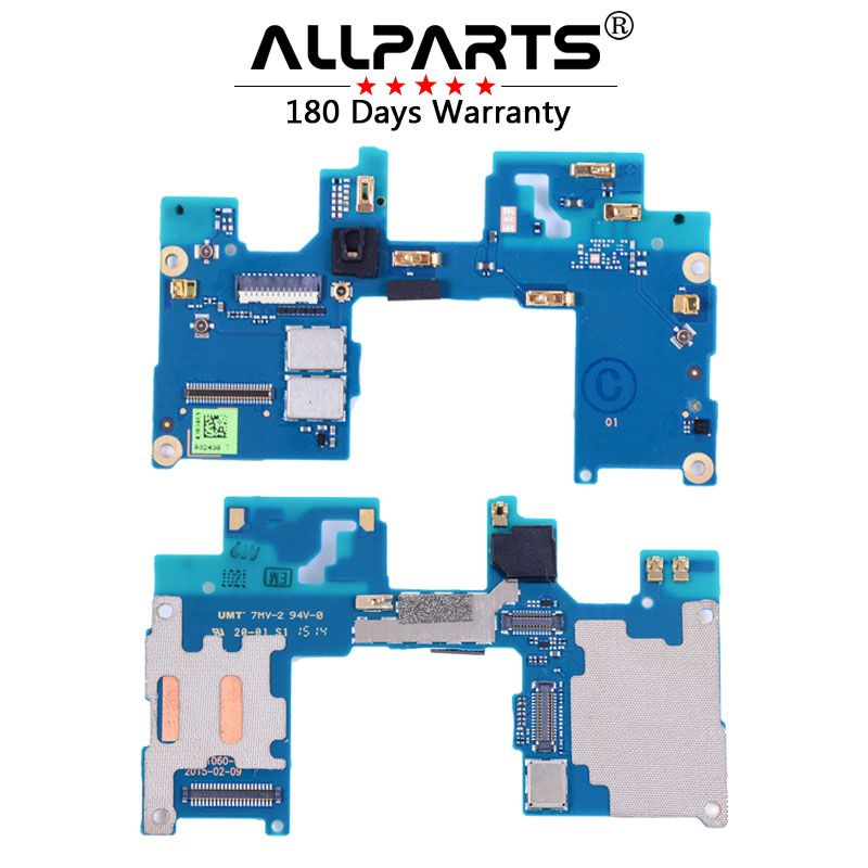 ALLPARTS Brand ORIGINAL Mainboard Connector Upper Circuit for HTC One M9 Plus Connectors Flex Cable with Microphone