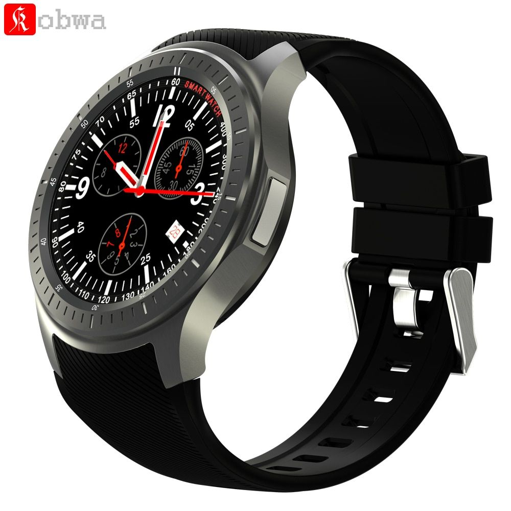 Android Smart Watch DM368 Wifi 3G Smartwatch Bluetooth GPS Pedometer Heart Rate Tracker Answer Dial Call 1.39