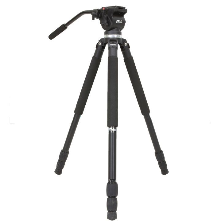 Jieyang tripod JY0509A JY-0509A professional camera SLR hydraulic damping bird 65mm bowl head