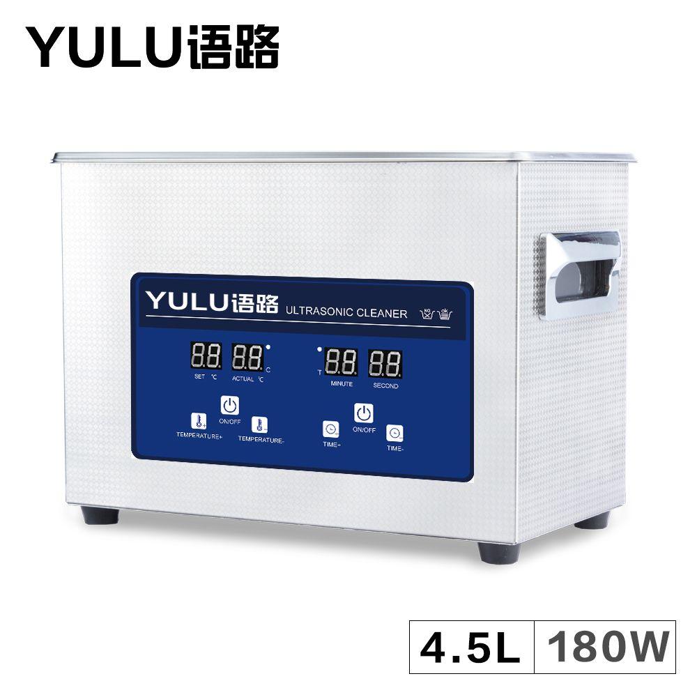 4.5L Digital Ultrasonic Cleaner Bath Auto Car Parts Oil Hardware Washing Instrument 6L Dental Heater Tanks Lab Timer Injectors