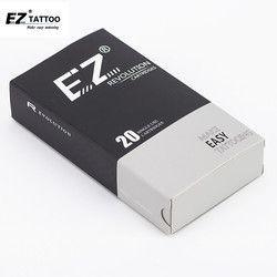 20 unids/caja #10 0.30mm bugpin ez revolución cartucho Round liner long Taper 5.5mm seguridad membrance dentro del sistema
