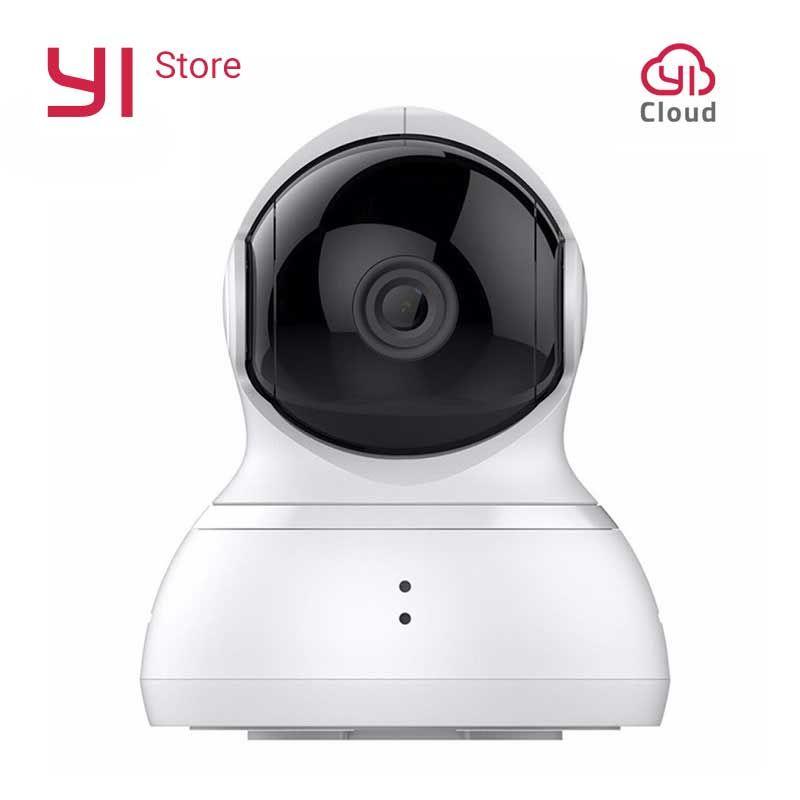 YI Caméra Dôme 720 p Pan/Tilt/Zoom Sans Fil Système de Surveillance de Sécurité IP HD de Vision Nocturne (NOUS /Édition de L'UE) blanc Bébé Moniteur