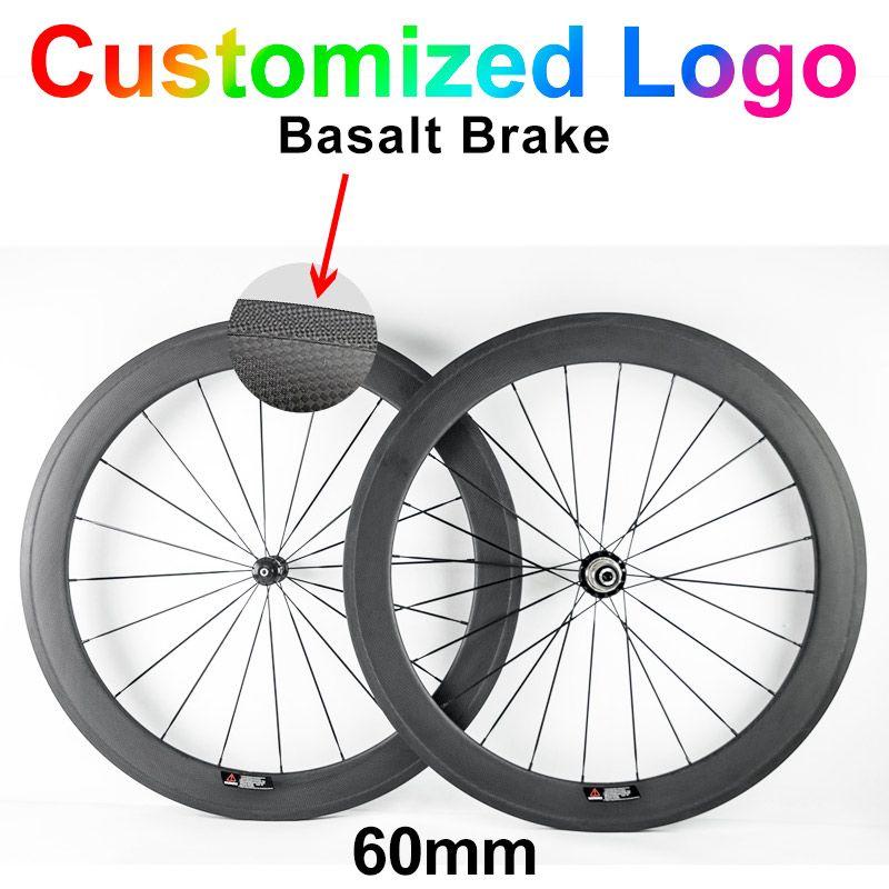 60mm carbon road bike wheels 23mm width 24mm 38mm 50mm 88mm depth Tubular Clincher ud 3k chinese carbon bicycle wheels Wheelset