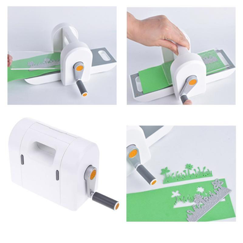 Die De Coupe Gaufrage Machine Scrapbooking Cutter Pièce Coupe-Papier Die-Cut Manuel Machine DIY Papier Artisanat Outils
