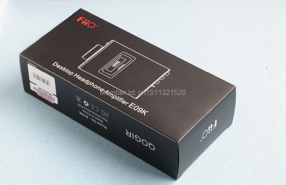 FiiO Refurbished Desktop Kopfhörer Verstärker E09KS (AC adapter: Flache pins)