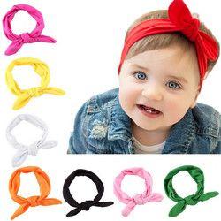 Bowknot Bandeau Bebe Fille Bébé Accessoires pour Filles Arcs Bandeau Bébé Fille Turbans Accessoire Faixa Cabelo Para Bebe