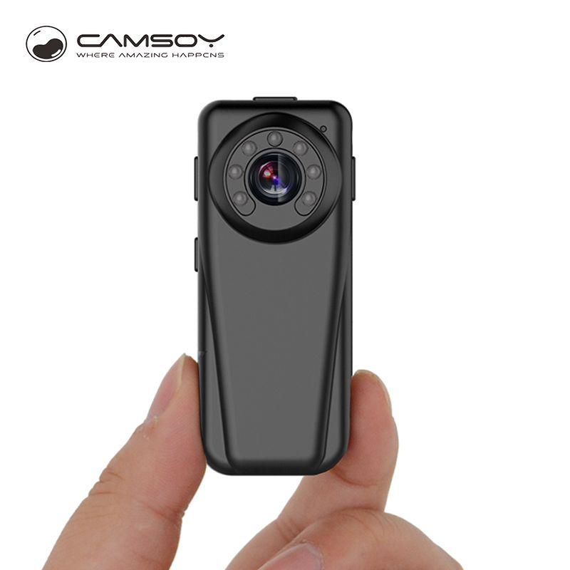 T50 Infrarouge de Vision Nocturne Micro Caméra Full HD 1080 p Caméra Grand Angle Mini 140 Degrés DVR Corps Kamera Poche HD 720 p Mini Cam