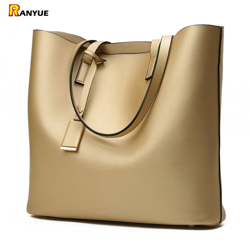 Luxury Handbags Women Bags Designer High Quality Leather Women Bag Black Big Solid Women Shoulder Bags Large Capacity Tote Bag
