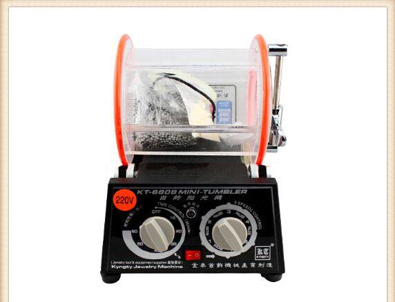 3Kg Rotary Tumbler Schmucksache-polier & Finisher mit 500g polieren 3mm und 1 kleine packung polieren pulver