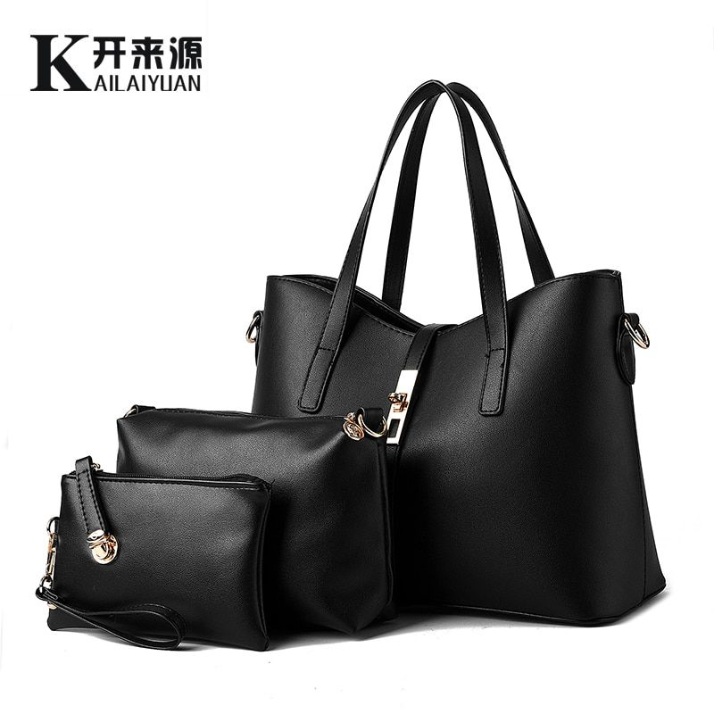 KLY 100% Genuine leather Women handbags 2018 New Europe style stereotypes fashion handbags Messenger bag shoulder bag