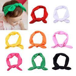 1 pc Lucu Baru Lahir Bayi Perempuan Headband Pita Headwear Bayi Anak Karet rambut Gadis Busur Simpul Berwarna-warni Ikat Kepala merah Kuning Hijau biru