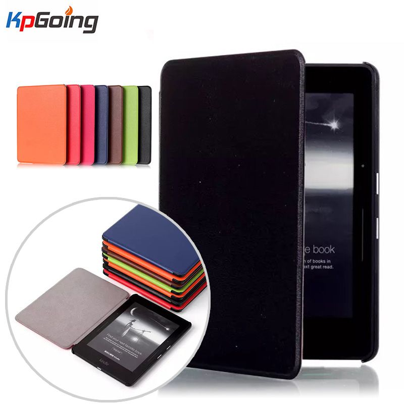 Luxury Elegant Leather Case Cover for Amazon Kindle Voyage 6inch Ereader for Amazon Kindle Voyage Case Cover 6