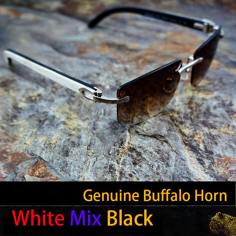 HANDMADE white black Buffalo Horn Glasses frame pink sunglasses men carter glasses frames brand designer sun glasses mens 012