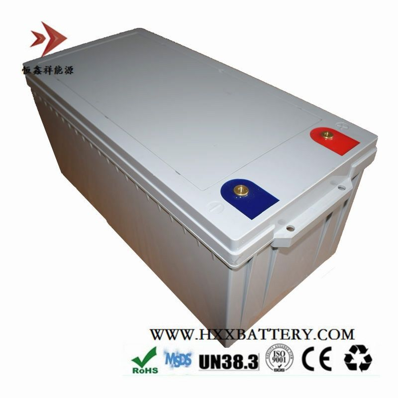 HXX 12V 250AH 3200W LiFePo4 Battery Pack Long Time BMS Built 250A free Charger 14.6V 10A EU Plug Customize Capacity Wholesale