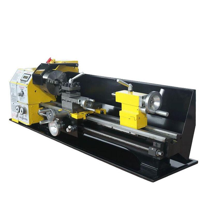 Kleine mini drehmaschine mechanische metall verarbeitung haushalt Buddha perlen Maschine freies steuer zu RU
