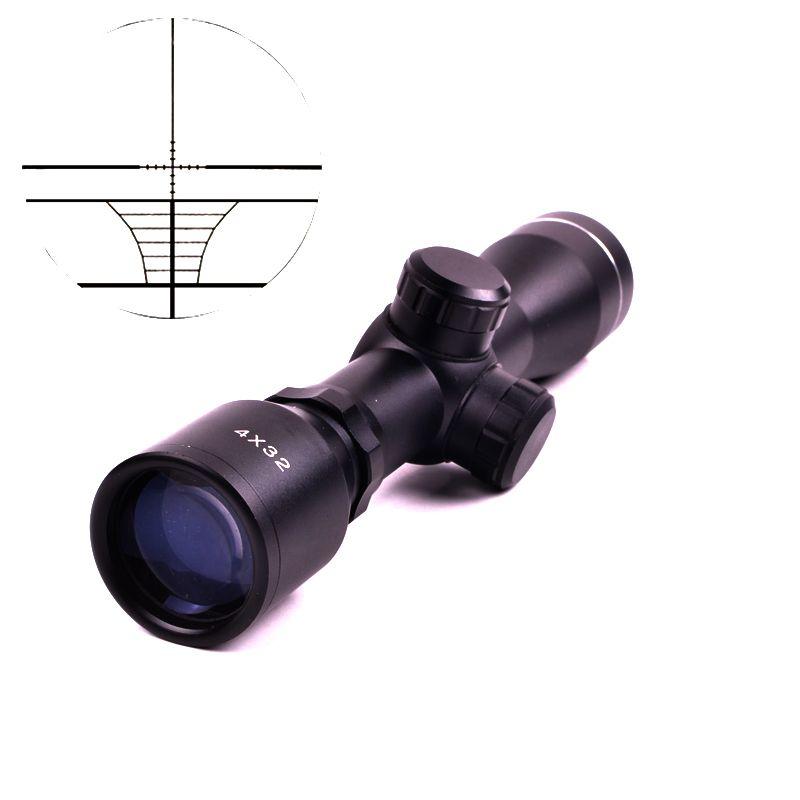 Тактический 4x32 пневматическая винтовка оптика снайперский Сфера компактный Оптические прицелы прицелов с 20 мм/11 мм Rail крепления