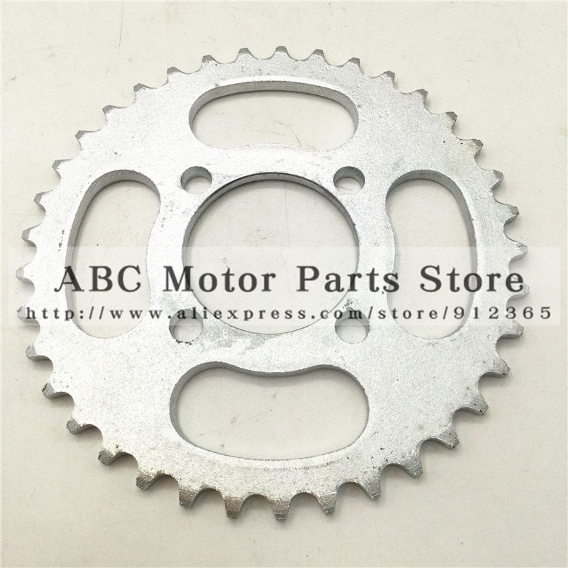 420 Chain rear sprocket 37 tooth 53mm centre hole for Small Dirt Pit Bike Gear rotor off road motorcycle Motocross spare parts