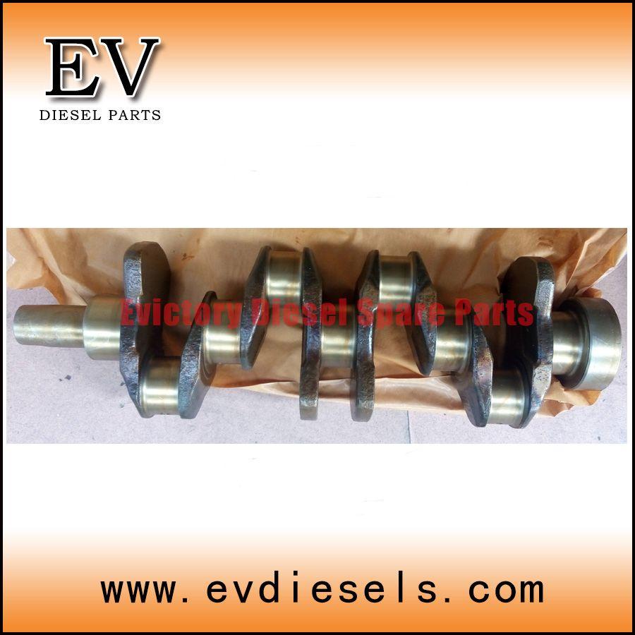 Forklift &excavator engine crankshaft for yanmar 4TNE94 4TNE98 4D98E crankshaft new
