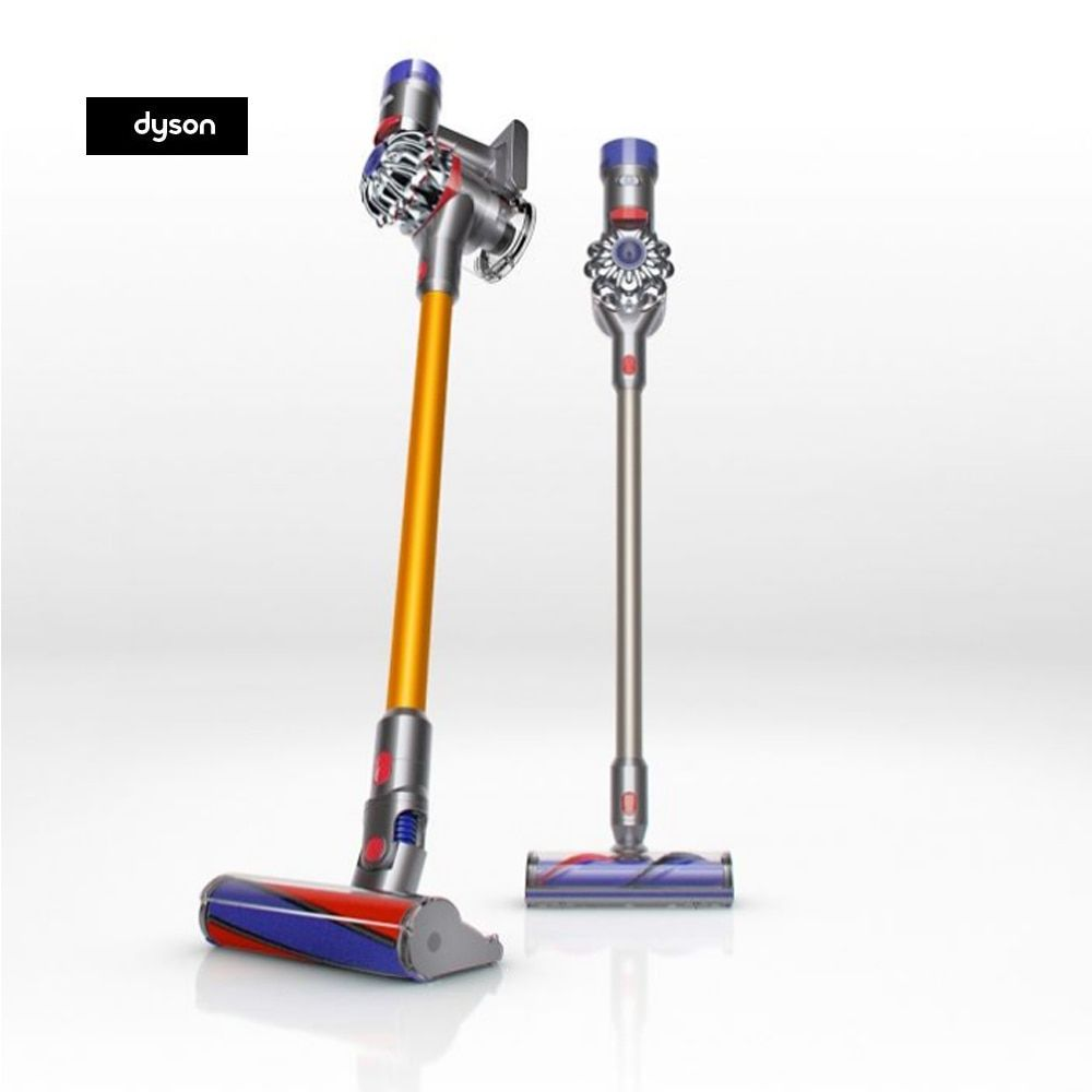 100% Original Dyson V8 Vacuums up to 40 minutes powful suction direct-drive cleaner head strong pick-up whole-machine  US plug