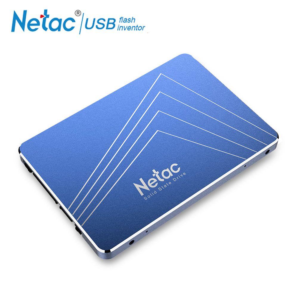 Netac disque dur SSD 240 GB 720 GB 960 GB SATA3 Interne Solid State Drive SSD 240 GB 120 GB 480 GB 60 GB 1 TO Portable PC disque dur