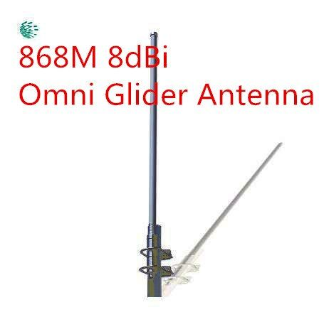 OSHINVOY 868MHz omni base antenna GSM fiberglass antenna 8dBi 868MHz roof glider monitor antenna 868M fiberglass antenna