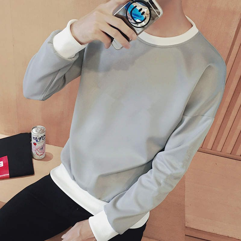 Long sleeved t-shirt men's winter thickening, autumn clothes, men's clothing, thermal clothing, students' bottoming shirts, men'