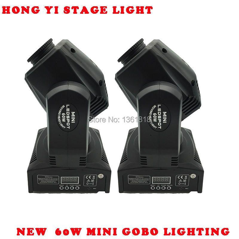 60W LED Spot Moving Head Light/USA Luminums 60W LED DJ Spot Light 60W gobo moving heads lights super bright LED DJ Spot Light