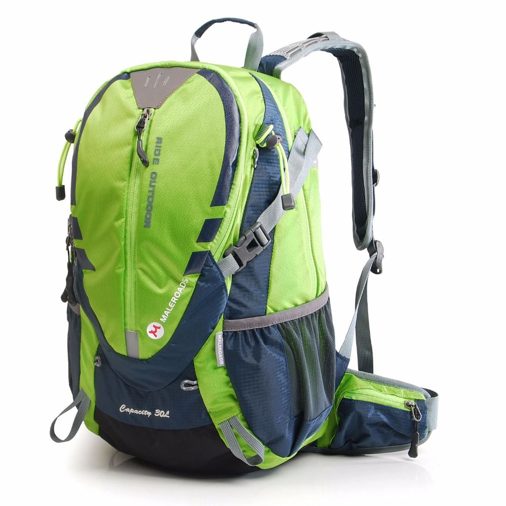 Maleroads Bicycle bag Bike bag rucksacks Packsack Road cycling bag Knapsack Riding running Sport Backpack Ride pack 30L
