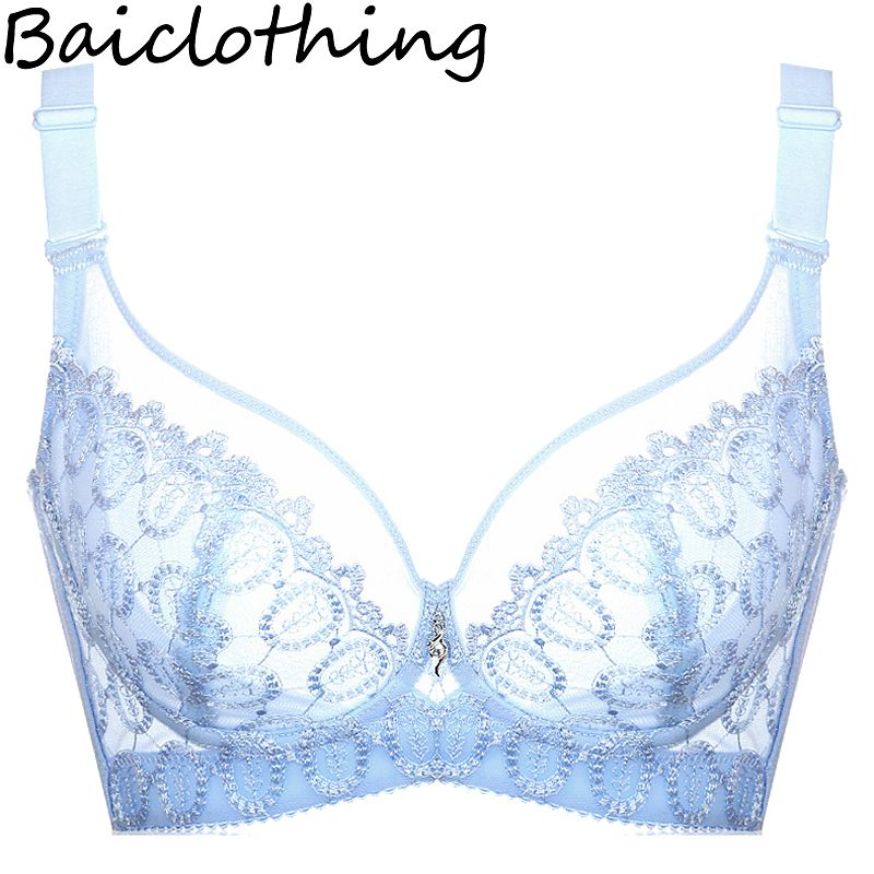 BAICLOTHING Drop Shipping Women's Full Coverage Underwire Non-padded Unlined Minimizer Bra Lingerie 34 36 38 40 42 B C D E F