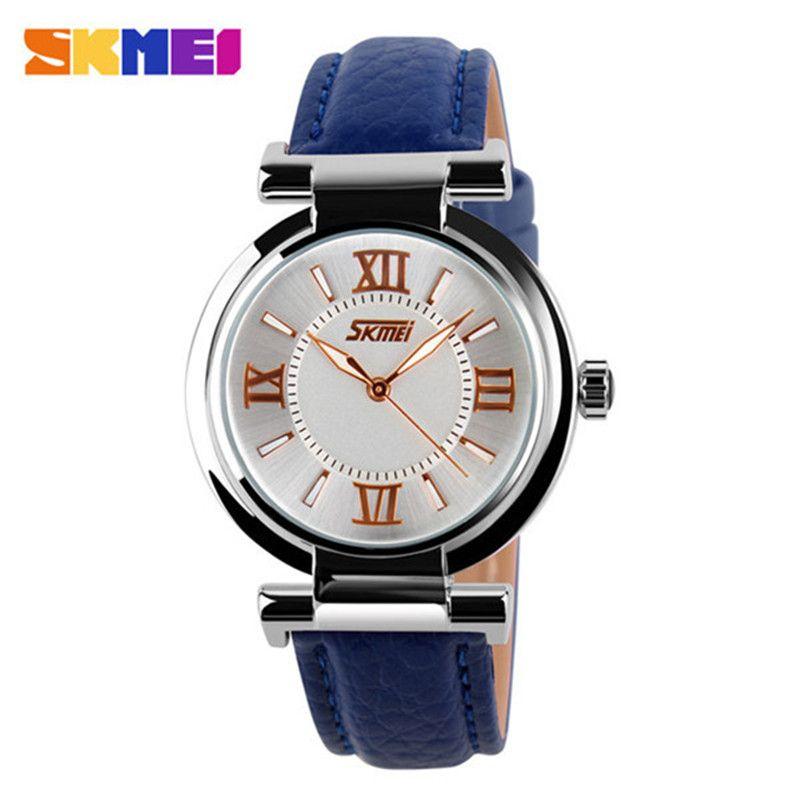 2016 New Womens Wristwatch Women Dress Watches Fashion Casual Leather Strap Watch Ladies Watches Relogio Feminino RELOJ Clock