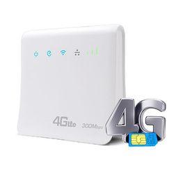Portable 4g LTE WIFI Routeur 300 Mbps LTE CPE Mobile 3g 4g Modem WIFI Routeur avec LAN port Carte SIM Pris En Charge Sans Fil Routeur