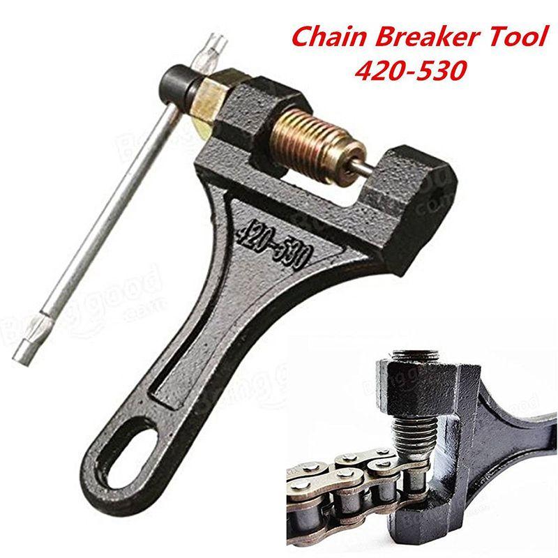 Universal Motorcycle Bike Chain Breaker Link Removal Splitter Cutter Tool Bicycle Repair Tools Accessories Motor Parts