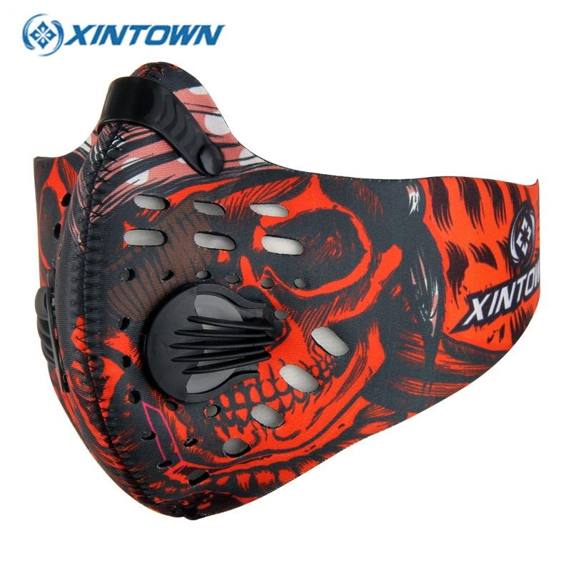 XINTOWN Outdoor Training Sports Cycling Dust Mask Bike Bicycle Masque Nylon Anti PM2.5 Running Sportswear Maske Bisiklet
