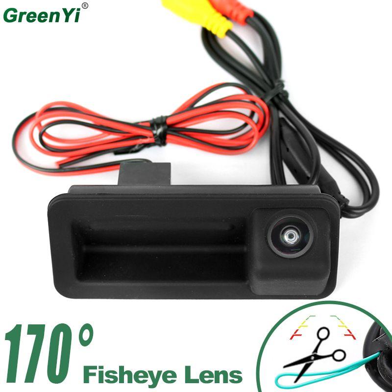 2019 Vision nocturne 170 degrés Fisheye lentille véhicule vue arrière caméra pour FORD Mondeo/FOCUS/Range Rover/Freelander 2