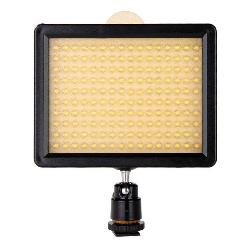 New WanSen W160 LED Video Camera Light Lamp DV For Camera photography studio 7.5V 10.5W Drop Shipping Wholesale strong as CN-160